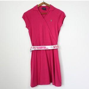 Ralph Lauren Pink Polo Dress Sz XL